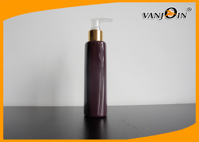 Custom PET Plastic Cosmetic Bottles and Jars 500ml for Shampoo with 24 / 415 Neck Finish
