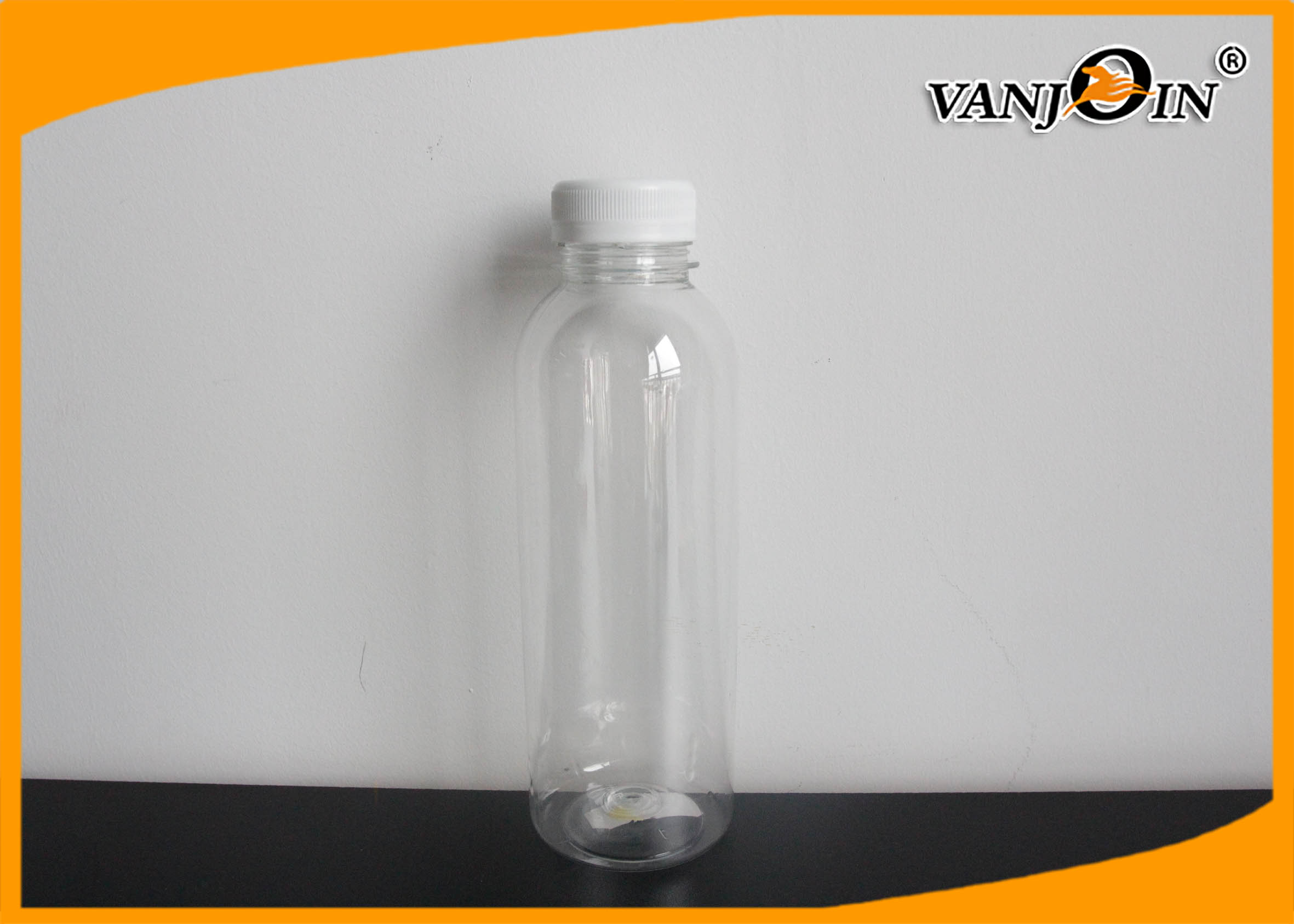 BPA-Free Empty 250ml / 500ml / 1000 ml PET Milk Bottles , Small Plastic Beverage Bottles