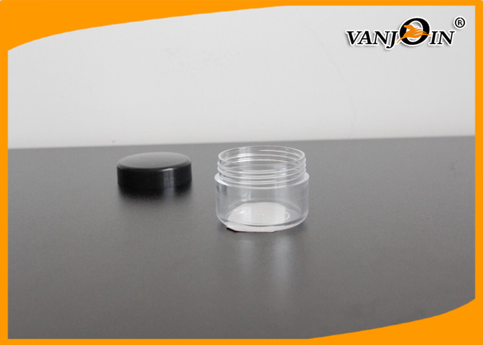 Recycling Empty 20ML Wholesale Plastic Jars / Clear PET Small Plastic Containers