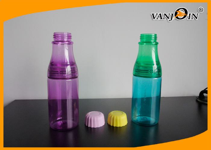 Small Safe Plastic Drinking Bottles Custom Multi Color