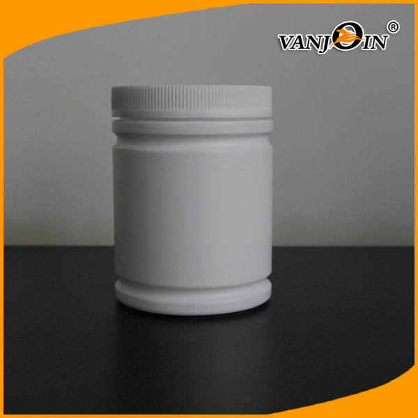 Wide Mouth  Plastic Food Jars HDPE Protein Powder Bottle Approved ISO