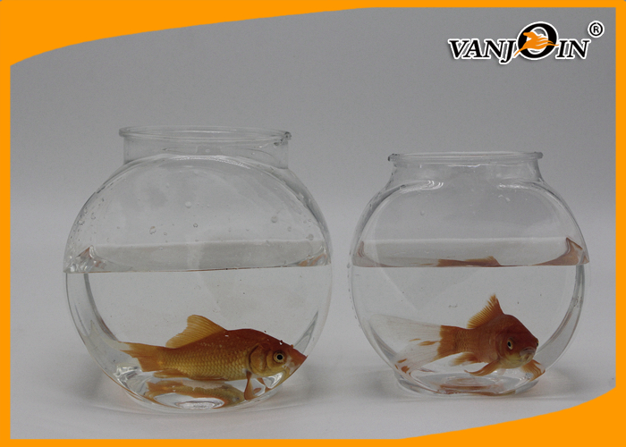 1.2L Flat PET Clear View Fish Plastic Tank for Aquarium , Silk screen printing