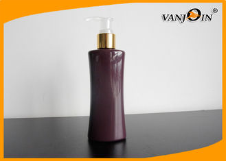 China Custom PET Plastic Cosmetic Bottles and Jars 500ml for Shampoo with 24 / 415 Neck Finish supplier