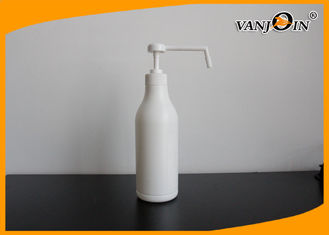 China 520ML Long Nose Pump HDPE Plastic Empty Cosmetic Shampoo Lotion Bottles Eco-friendly supplier
