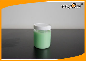 China 100G PET Cosmetic Packaging Face Cream Jar Plastic Small Round 50*60mm supplier