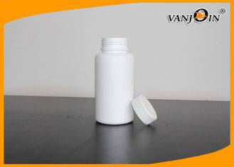 China 200ml HDPE White Empty Pharmaceutical Plastic Pill Containers with Caps & Sealers supplier