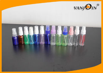 China 30-60 ml Cosmetic Clear PET Spray Bottle For Perfume / Perfume Spray Bottles supplier