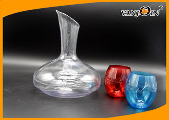 China Ice Bucket unique Plastic Drink Bottles with Small Four color Cup supplier