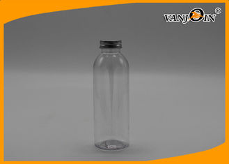 China Fresh empty clear plastic juice bottles , recycling juice bottles plastic supplier