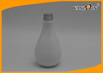 China PET 250ml Water plastic dropper bottles White Mouthwash with Cap supplier