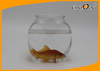 China 1.2L Flat PET Clear View Fish Plastic Tank for Aquarium , Silk screen printing supplier