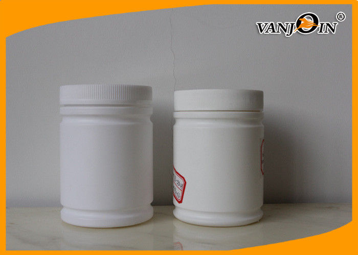 Empty Protein Powder Packaging HDPE Plastic Bottles 550ml