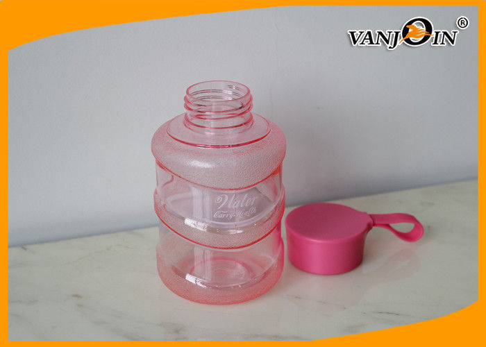 Portable 460ML Mineral Water Bottle with carrying handle , Healthy Mini Drinking Water Bottles