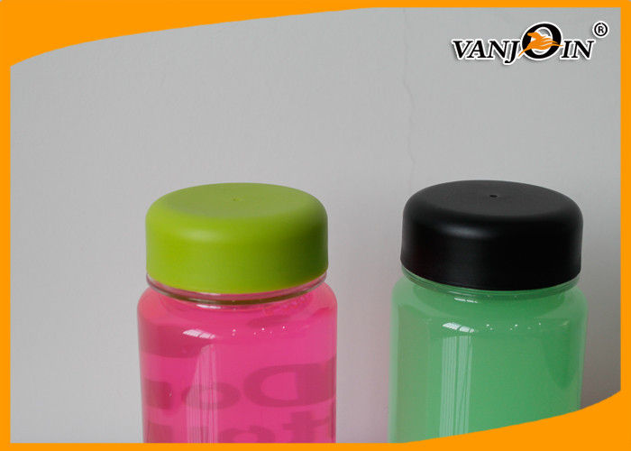 350ml Small Clear PC / Tritan Plastic Water Screw Top Bottles for Beverage