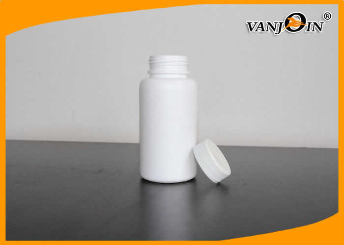 200ml HDPE White Empty Pharmaceutical Plastic Pill Containers with Caps & Sealers