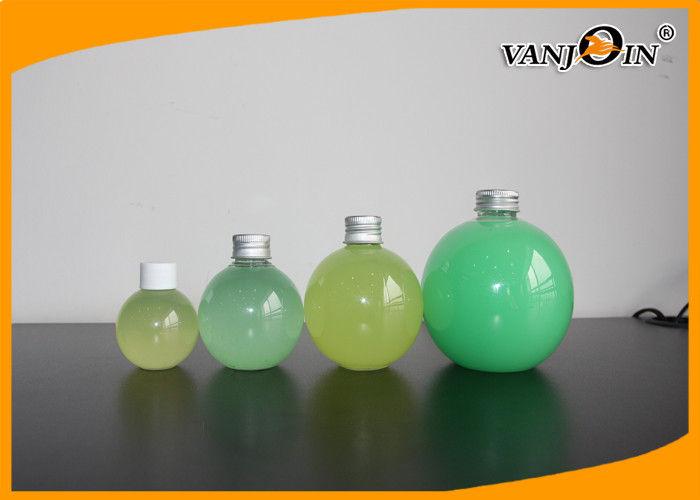 60 Ml 200ml 300ml 500ml Ball Shaped Plastic Juice Bottle