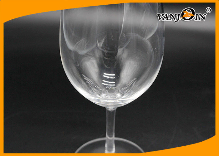 Transparent Acrylic Goblet Plastic Drinking Cup For Red Wine Champagne Beer Juice