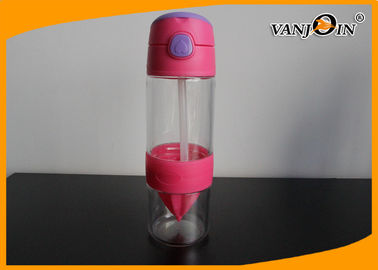 Fancy Design Cooling Water Sport Running Plastic Lemon Bottle / Plastic Drink Container